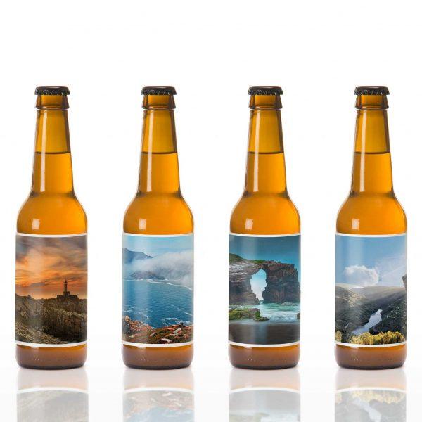Cervezas Artesanas San Xoan Coleccion Natureza Recuerdo Galicia