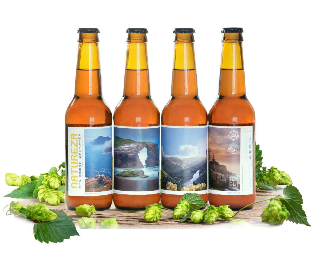 Comprar Cervezas Artesanas San Xoan Coleccion Natureza Recuerdo Galicia